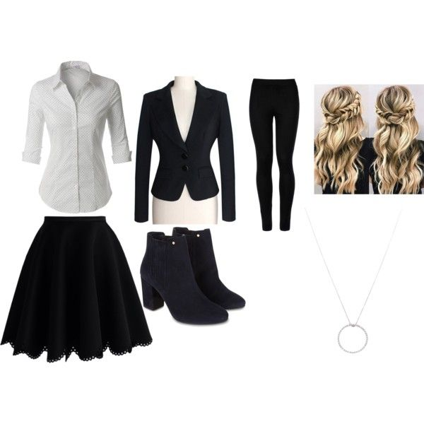 Untitled #67 by frostyangel on Polyvore featuring LE3NO, Chicwish, Wolford, Monsoon and Roberto Coin