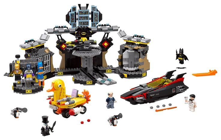 LEGO has published pictures of three LEGO Batman Movie sets on their official Facebook and Twitter pages today. 70905 The Batmobile and 70906 The Joker's Notorious Lowrider were revealed a couple of months ago and several more sets have yet to be shown.