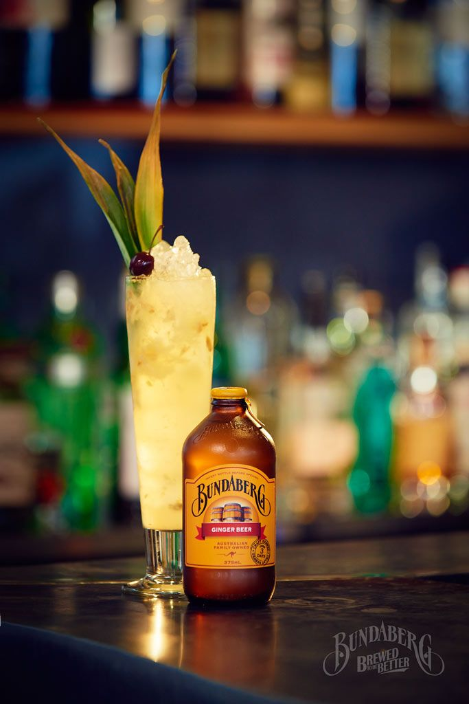 Try this delicious Bundaberg Brewed Drinks mocktail, Ginger Beer & Pineapple.