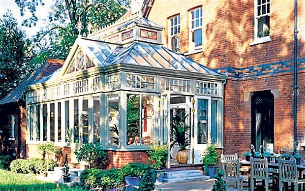 glass conservatory kits | Touch of glass: conservatories add some sparkle to many handsome homes