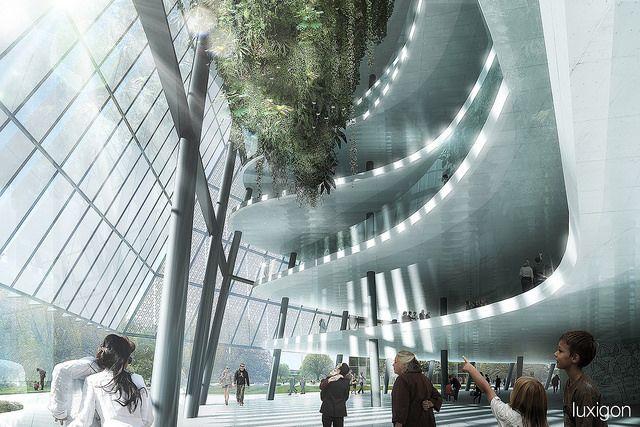 COOP HIMMELB(L)AU - Vertical Garden Tower - Frankfurt, DE | by luxigon