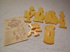 Vintage Wilton Sesame Street Plastic Cookie Cutters 6 Cutters and Instructions!