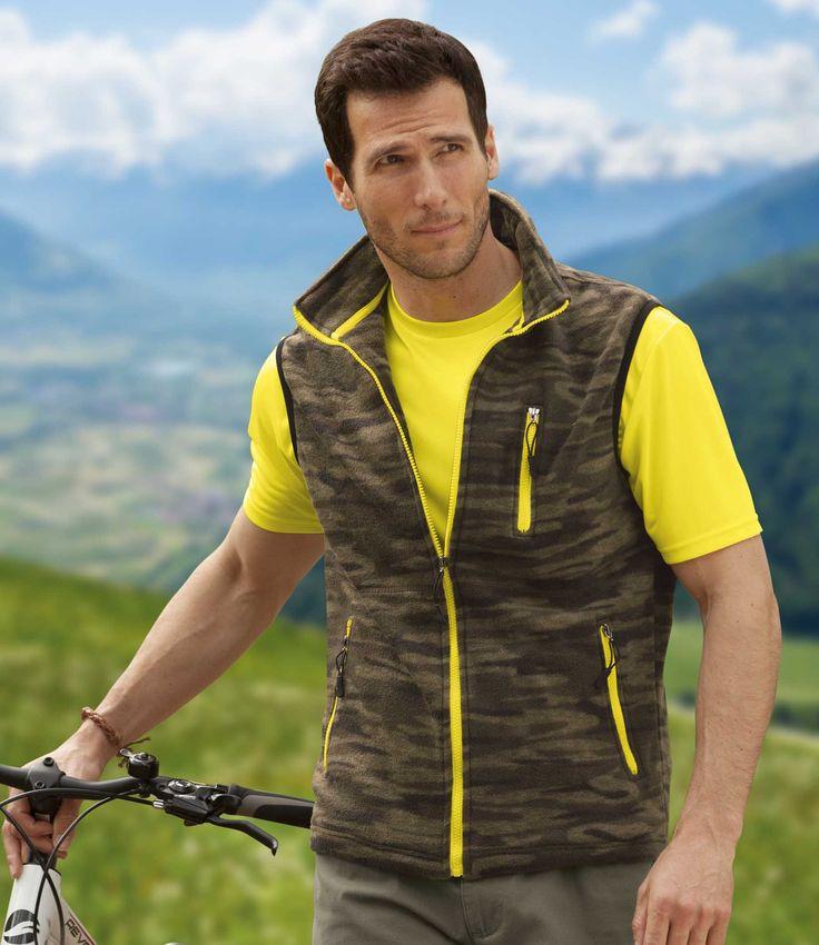 Gilet Sans Manches Camouflage #travel #voyage #atlasformen #formen #discount #shopping #ootd #outfit #formen #hommes #man #homme #men