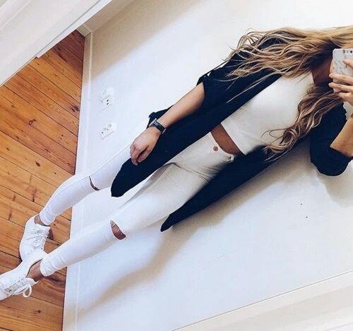 Cómo combinar blanco y negro de manera perfecta                              …