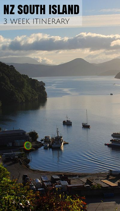 Picton Harbour at the precipice of the Marlborough Sounds on a sunny afternoon. Stunning views just walking around the area.