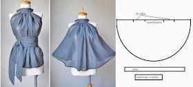 Moda e Dicas de Costura: BLUSA GODÉ