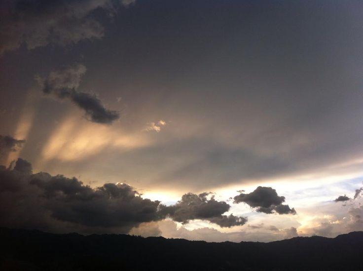 Cielo-Rayo de Sol
