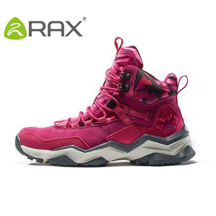 RAX 2016 Waterproof Hiking Shoes Men Winter Hiking Boots Women Hunting Boots Outdoor Boots Men Climbing Walking Trekking Shoes