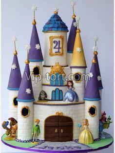 торт замок принцессы - Поиск в Google