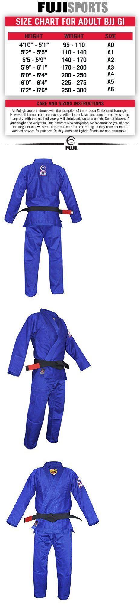 Jackets 179771: Fuji Bjj Uniform Blue A1 Mens Martial Arts Uniform Jacket, New -> BUY IT NOW ONLY: $108.77 on eBay!