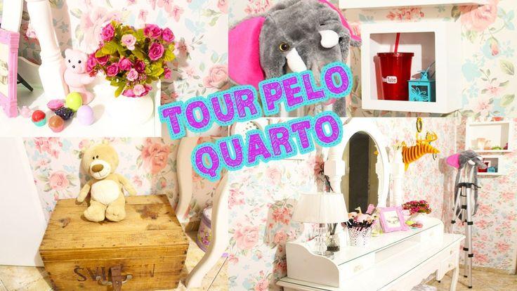 TOUR PELO QUARTO NOVO