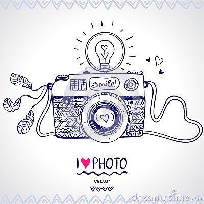 Croquis d appareil-photo