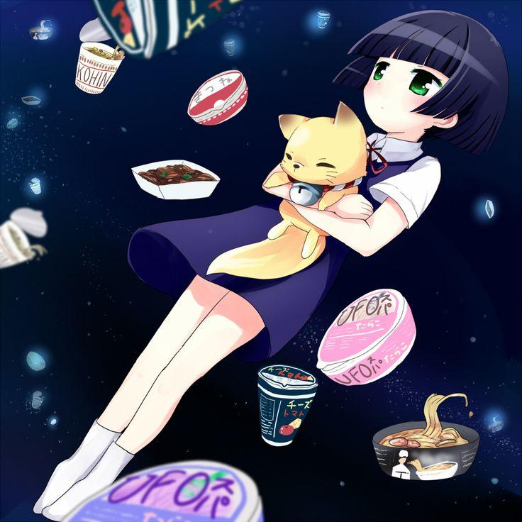 Gugure! Kokkuri-san | Kohina Ichimatsu & Kokkuri-san | Anime | Fanart | SailorMeowMeow