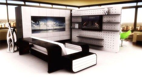 Duvarsız Ev Tasarımı -