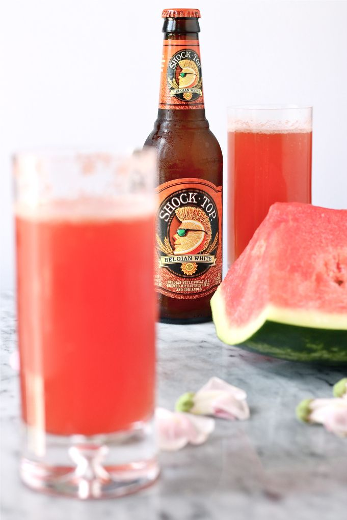 watermelon shandy - Like to Hell or High Watermelon that I had in San Fran!