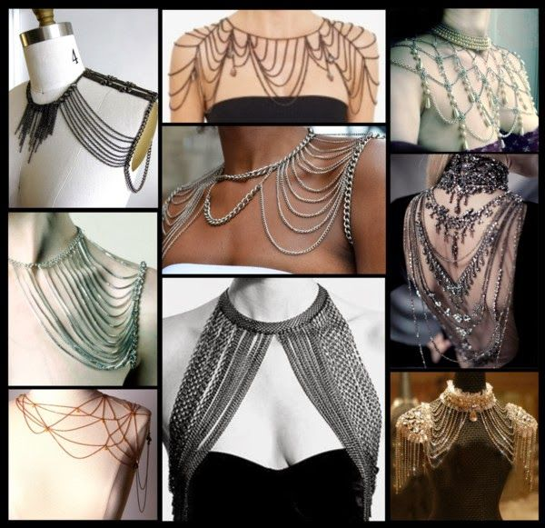 Crafty Lady Abby: COSTUME INSPIRATION: Shoulder Jewelry
