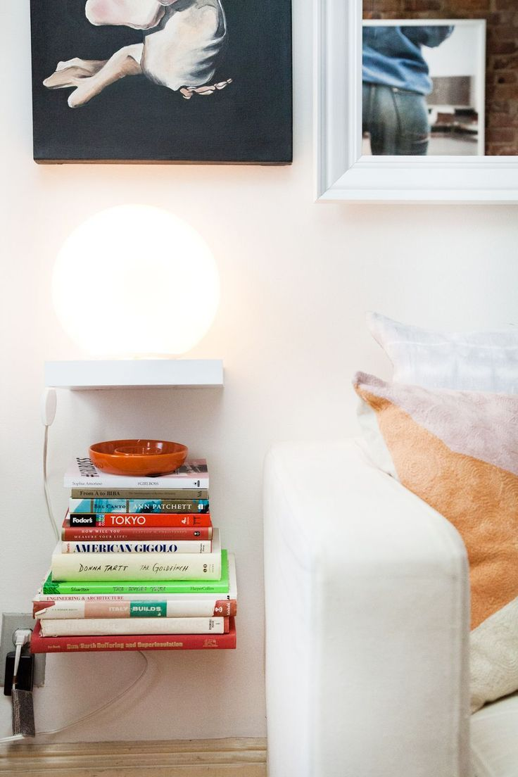 476 best images about a thing called home on pinterest diy swing shelves and copper - Small space shelves concept ...