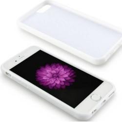 Motiv Flipcase Rosen und Schmetterlinge in Hellblau für Ihr iPhone 6/6sGahatoo