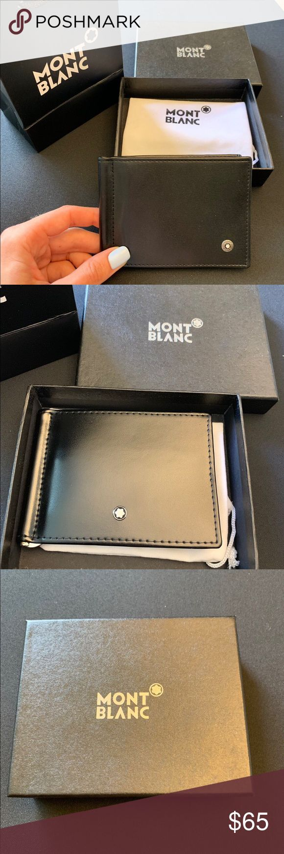 Montblanc Credit Cards And Money Holder New Montblanc Accessories Key & Card Hol…