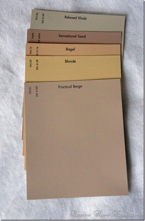 Love The Khaki And Practical Beige Popular Paint Colors