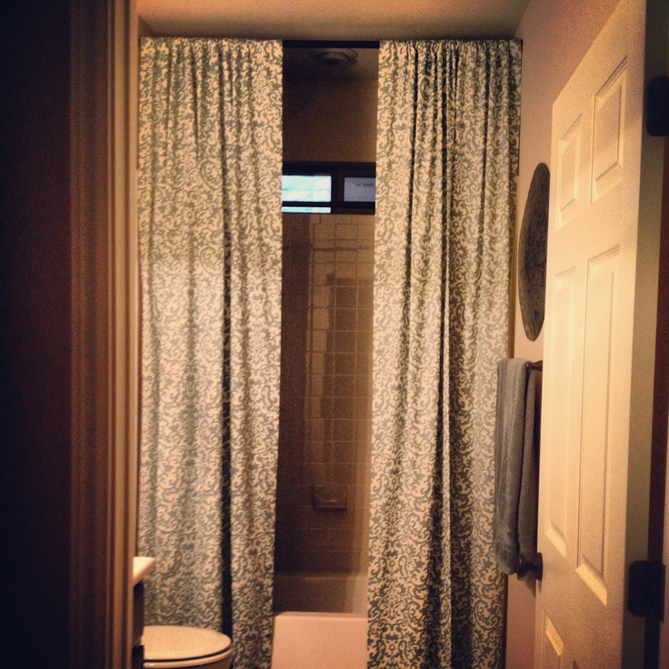 Floor To Ceiling Shower Curtains B A T H R O O M Ideas Pinterest Curtains Floors And