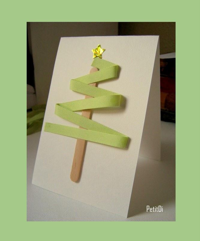 tarjeta de arbol de liston