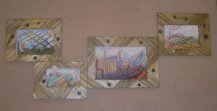 Διακοσμητικό δημιουργίας μου σε ξύλο-αντίγραφο σε ψηφιακή εκτύπωση ζωγραφικού μας έργου.-υπάρχει η δυνατότητα  διαφοροποιήσεων.