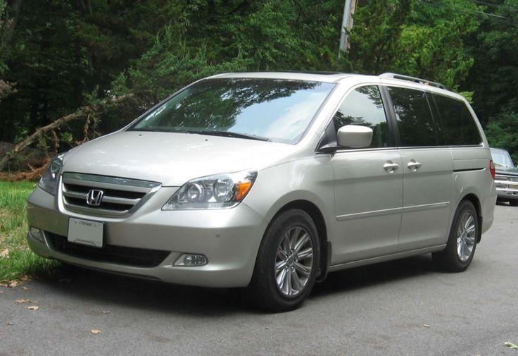 2007 Honda Odyssey Touring Tires