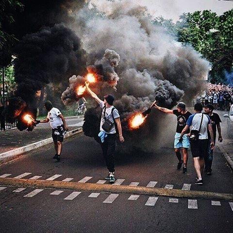 No Pyro, No Party! #pyro #ultras #hooligans #football