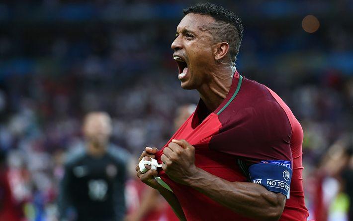 Download wallpapers Nani, 4k, footballer, soccer, Portuguese National Team
