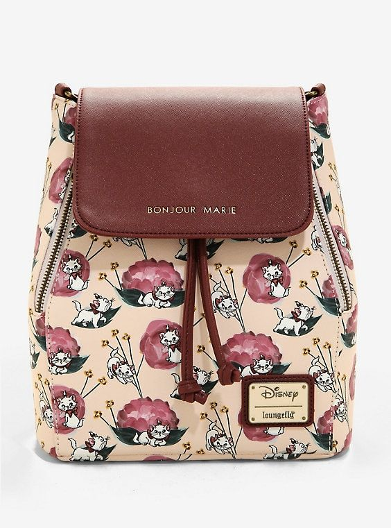 5341196d7bb Loungefly Disney The Aristocats Marie Convertible Mini Backpack - BoxLunch  Exclusive