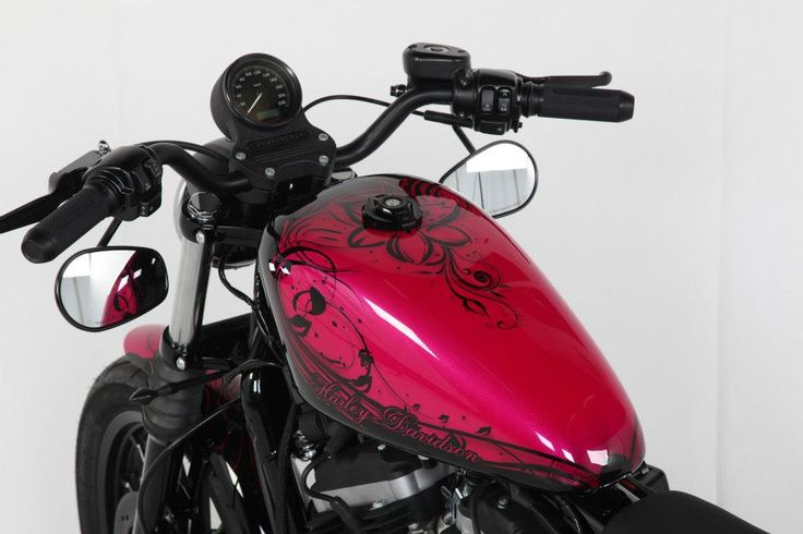 Pink Ladybike von  HD Performance Custom Motorcycles Hamburg