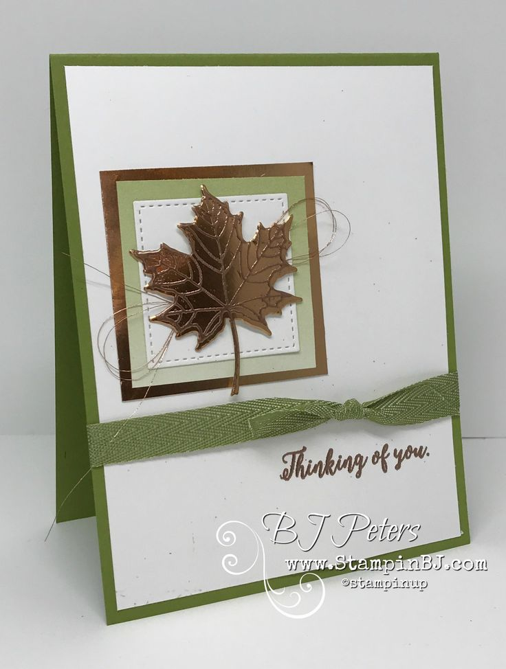 You will love this weeks Tips & Tricks with BJ - embossing on a die cut.  Colorful Seasons bundle from Stampin' Up!  #stampinbj.com