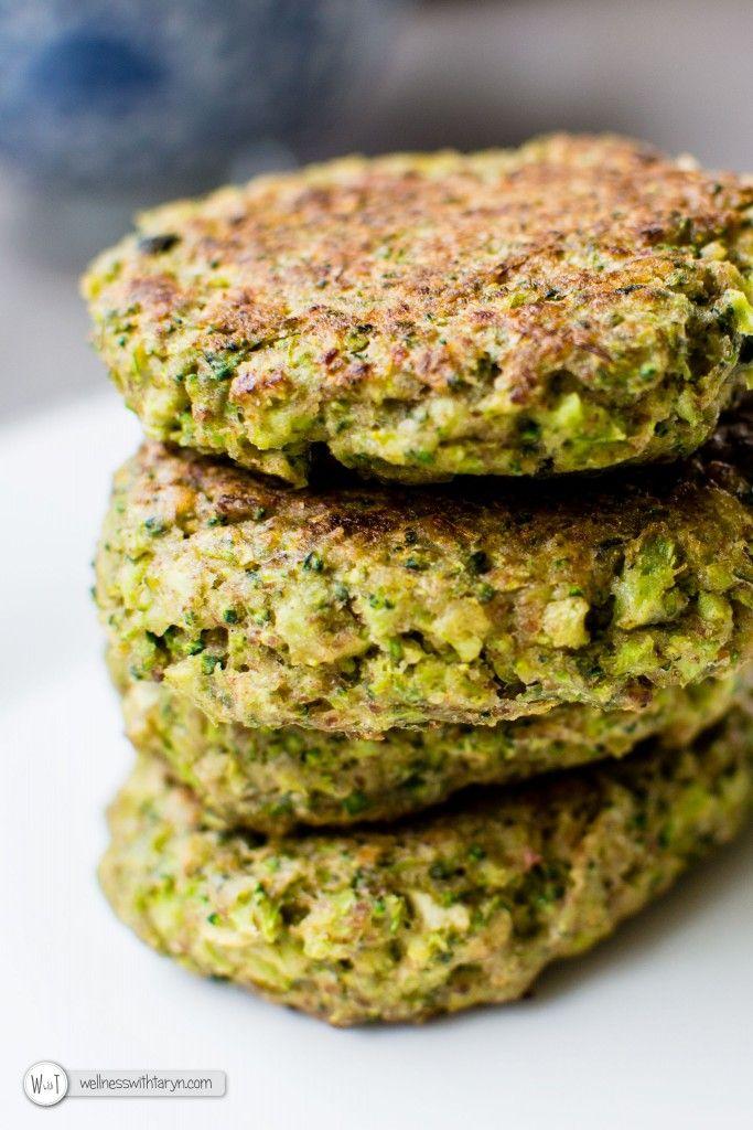 Buckwheat Broccoli Fritters