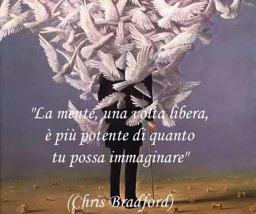 La mente una volta libera è più potente di quanto tu possa immaginare. #mind #free #imagination