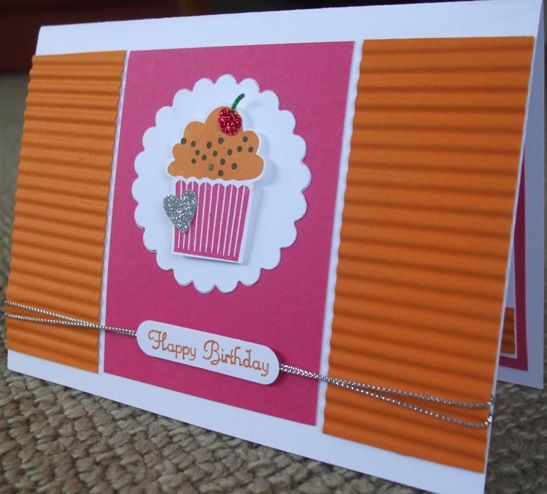 Create A Cupcake birthday by d_strickland - Cards and Paper Crafts at Splitcoaststampers