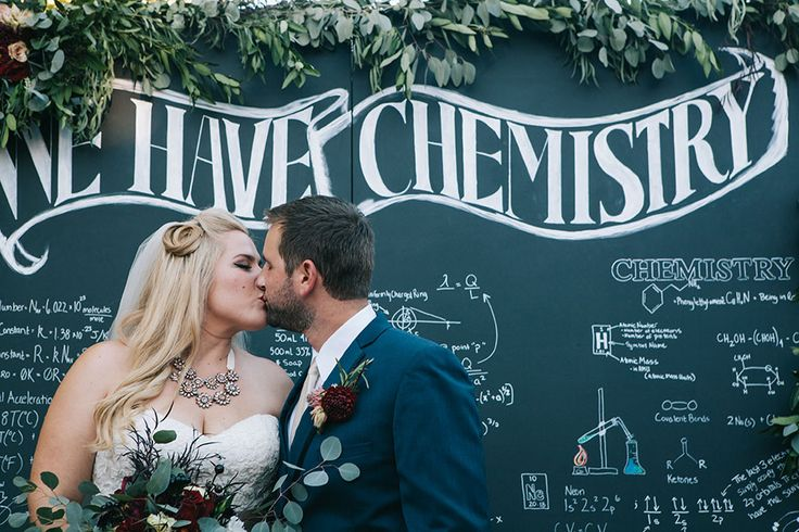 Uniquely Cool Eclectic Chemistry Wedding In San Francisco | Photograph by A Heart String | Featured on @StoryBrdWedding