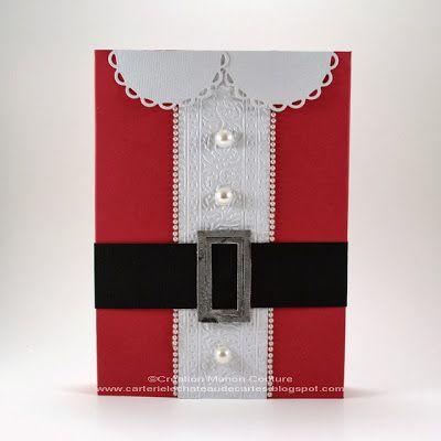 Tutoriel Emballage Mère Noël.