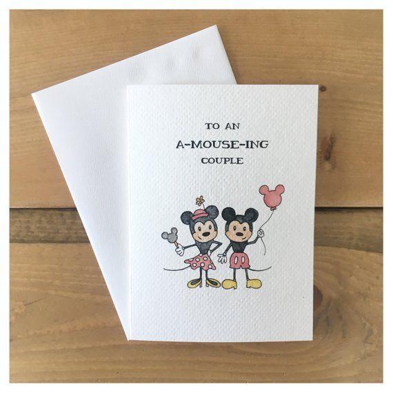 Mini And Mickey Anniversary Card Love Card Anniversary Card Couple Card Disney Disney Card M Disney Cards Funny Anniversary Cards Bookmark Card