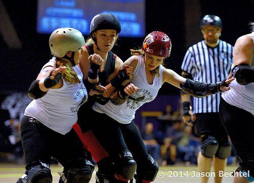 I like this  Cincinnati Rollergirls Violent Lambs vs. Brandywine Roller Girls Brawlers, 2014-03-08 - 152 / http://www.dancamacho.com/cincinnati-rollergirls-violent-lambs-vs-brandywine-roller-girls-brawlers-2014-03-08-152/