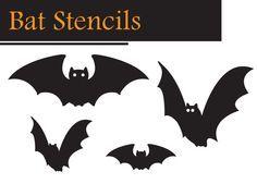 FREE Halloween Stencils for your Halloween Craft Ideas!