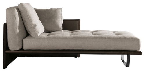 minotti luggage chaise lounge modern day beds and. Black Bedroom Furniture Sets. Home Design Ideas