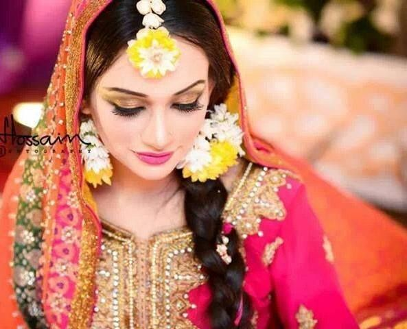 Mehndi Hairstyles For Long Hair : Best wedding hair and outfits images india