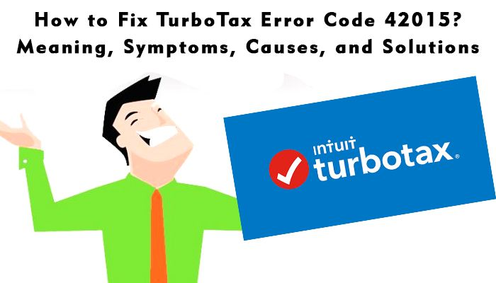 You can read this article to fix the #TurboTax_error_code_42105