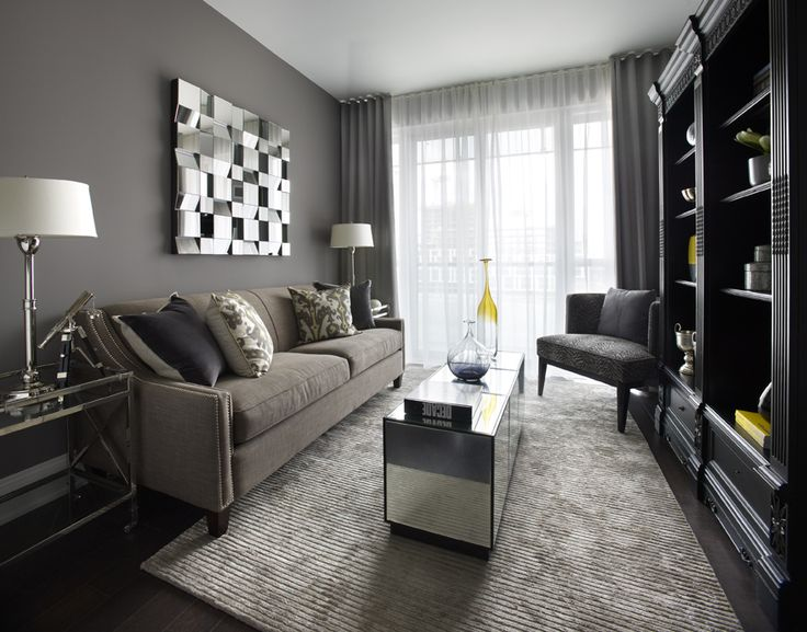 Model Suite 528 At Reve   Classic Interior With A Touch Of Yellow As The  Accent. Condo Interior DesignCondo ...