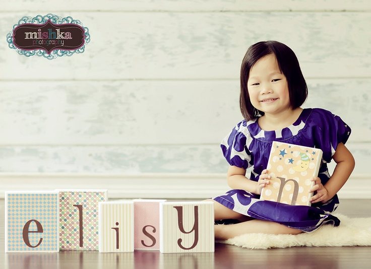 PHOTO PROP Baby Name Block Alphabet Letters . Letter Blocks . elisyn . levi . erin. $7.00, via Etsy.