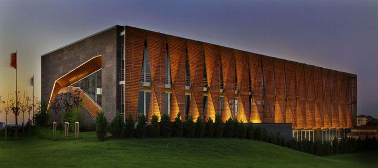 tago architects: sur yapi offices, turkey