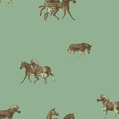 Zebra Wallpaper ~Robert Redding for York Wallcoverings