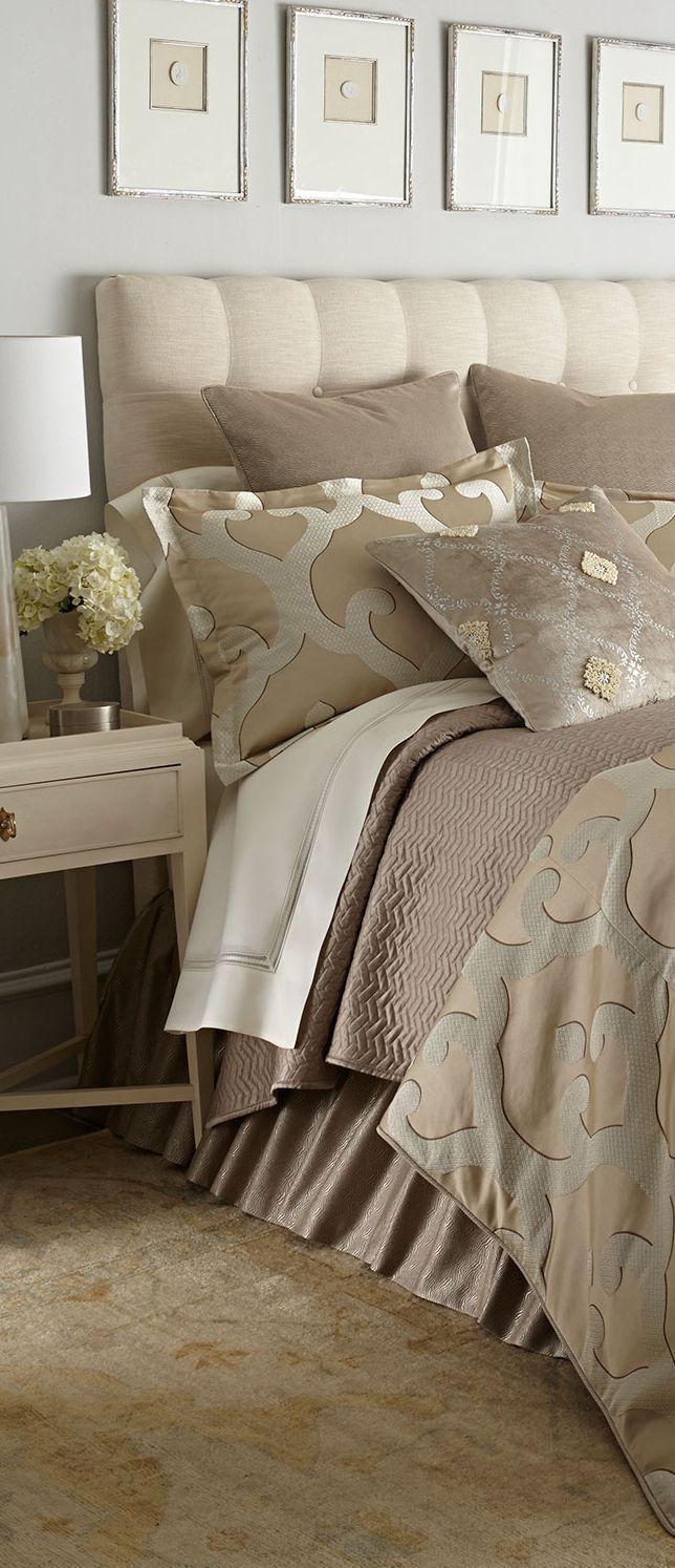 Jane Wilner Luxury Bedding  bedrooms. 202 best bedding images on Pinterest   Master bedrooms  Beautiful
