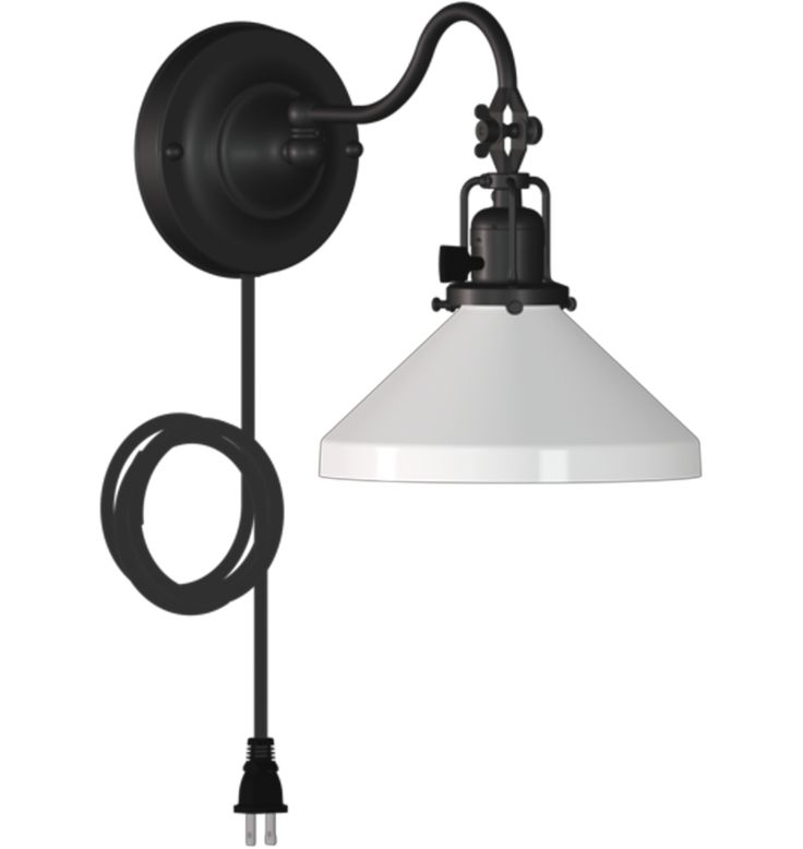 """Fords Mill 2 1/4"""" Pin Up Pin-Up Swing-Arm Wall Sconce A5662"""